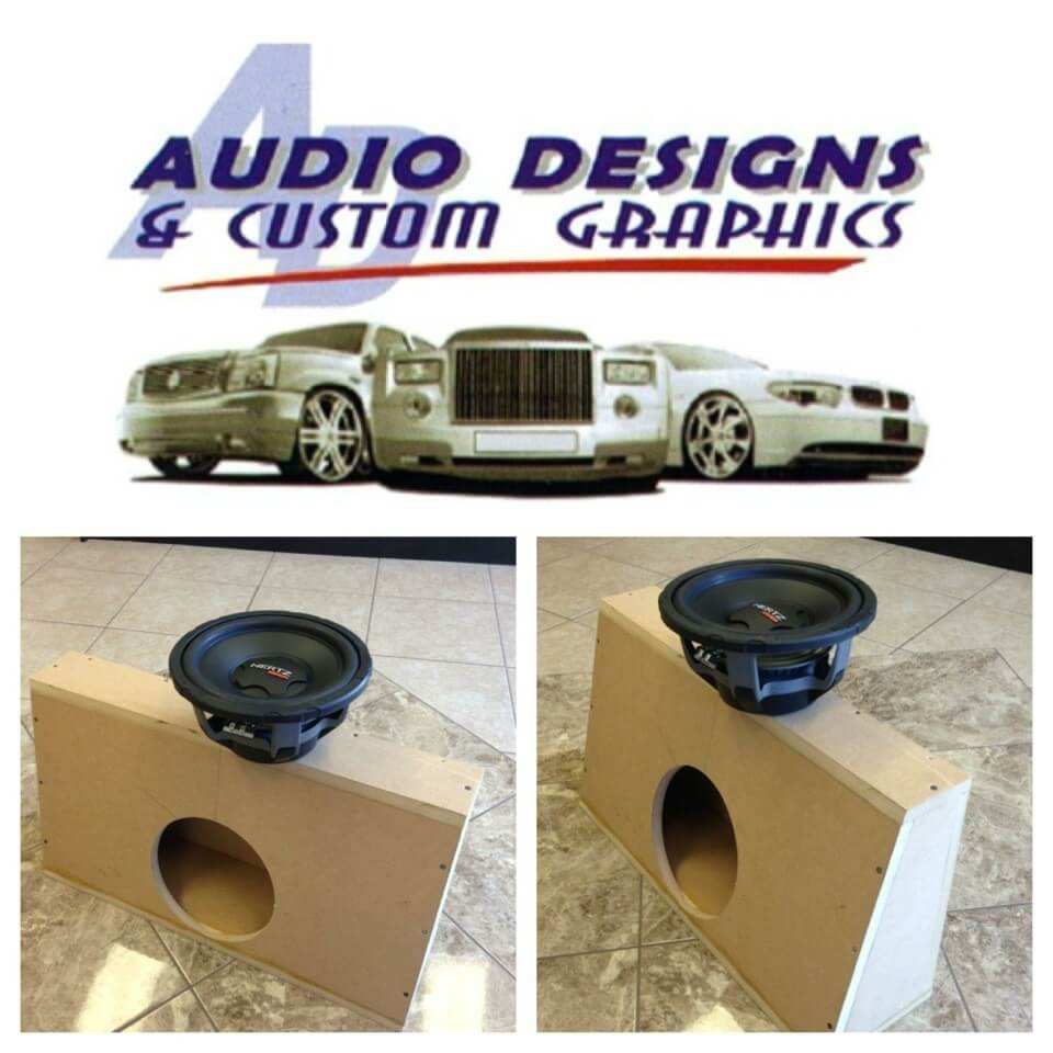Custom Enclosures Window Tint Audio Designs Amp Custom