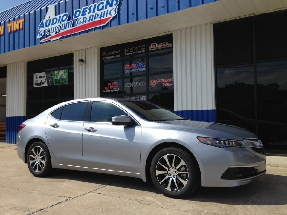 Acura TLX Window Tint Project For Duval Acura Dealer - Duval acura used cars