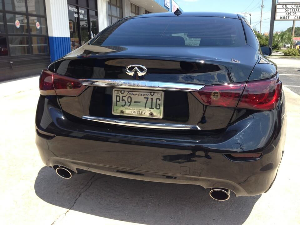 Client Drives 90 Miles For Lamin-X Tail Light Upgrade