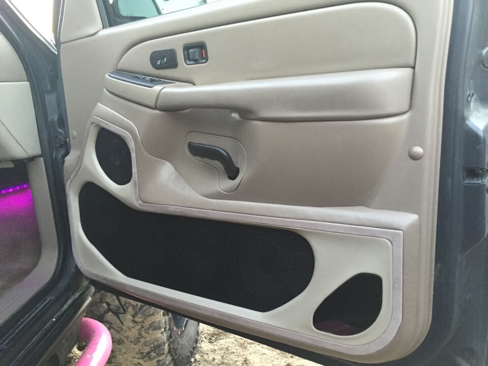 Custom Car Door Panels Custom Door Panel Completed