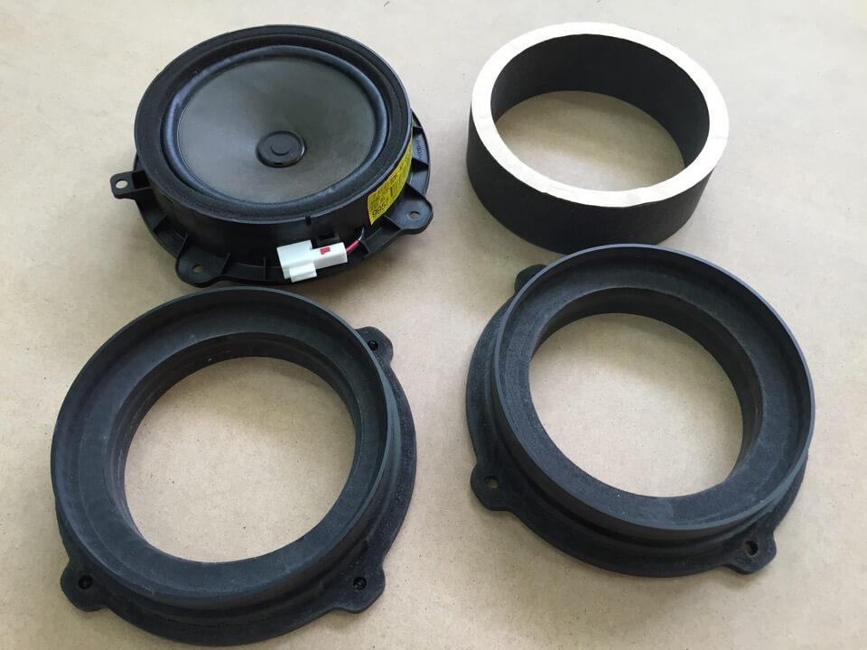 Pvc Sound System : Custom made speaker adapters for enhanced sound