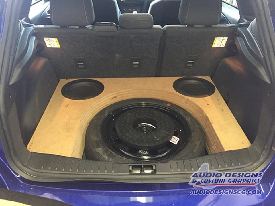 Stealth Ford Focus Subwoofer Enclosure