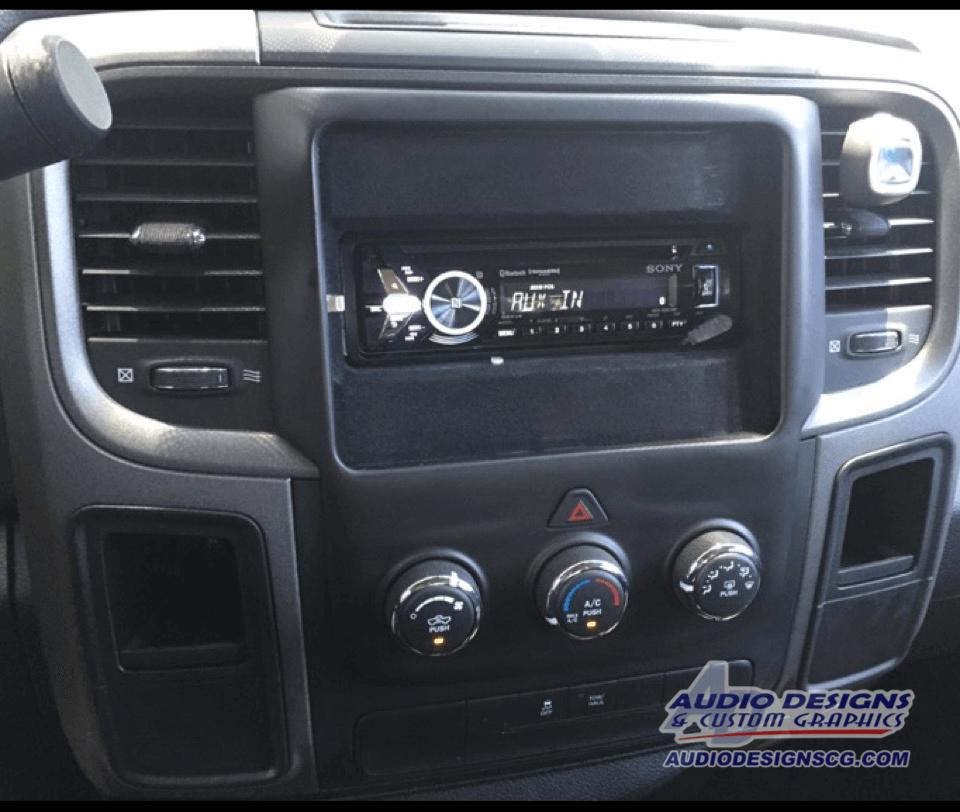 Sony Radio Wiring Harnes Dodge Truck