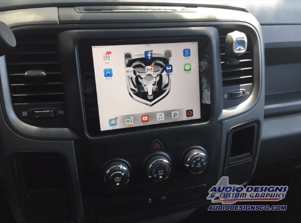 2004 dodge ram radio replacement
