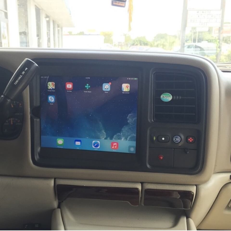 Jeep Leveling Kit >> Premium iPad In-Dash Vehicle Integration