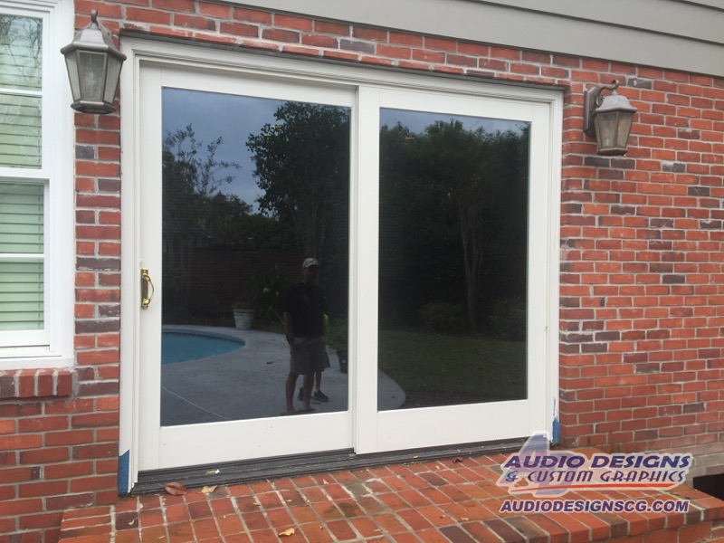 Tint your home windows to reduce heat and aid in privacy for Residential window design