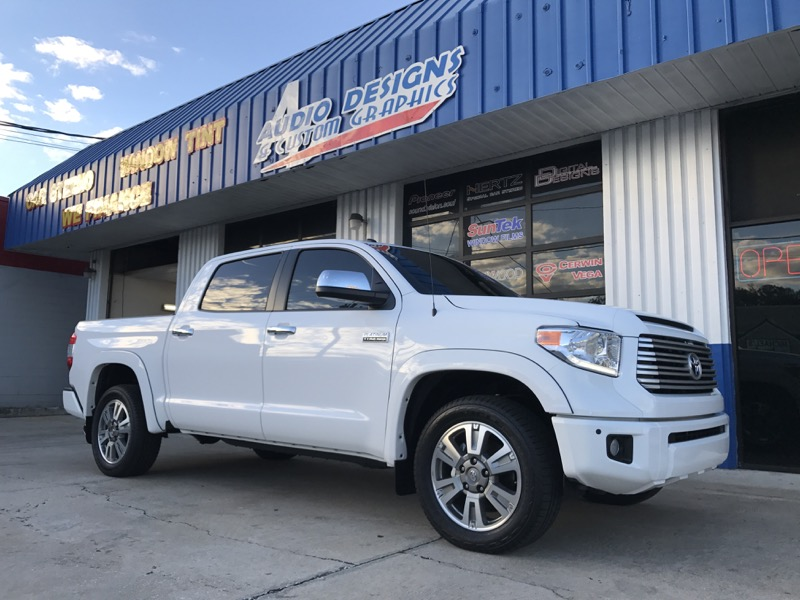 Car Wraps Jacksonville >> Jacksonville Beach Client Gets Toyota Tundra Audio System For New Truck