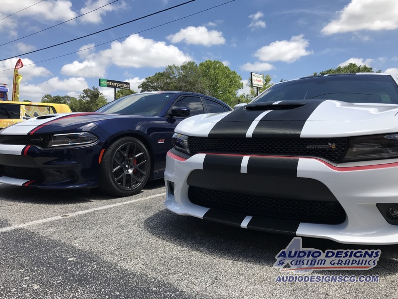 2017 Dodge Charger R T Scat Pack Sedan Window Tint