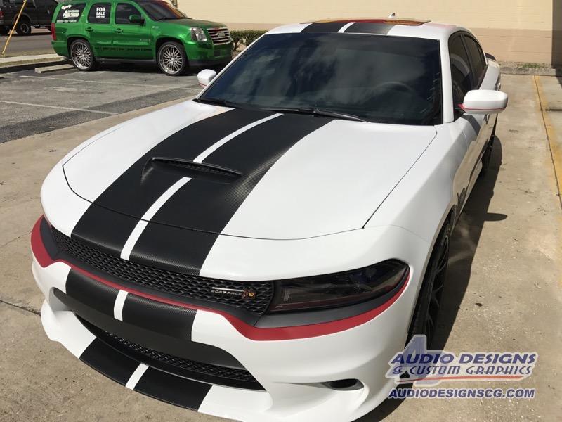 2017 Dodge Charger R T Scat Pack Sedan Window Tint