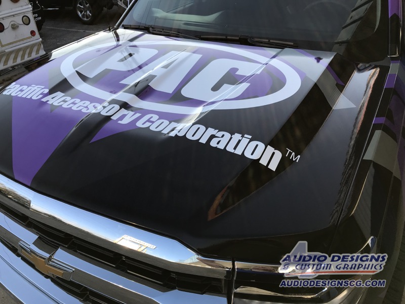 Car Audio Manufacturer Gets Incredible Chevy Silverado Vinyl Wrap