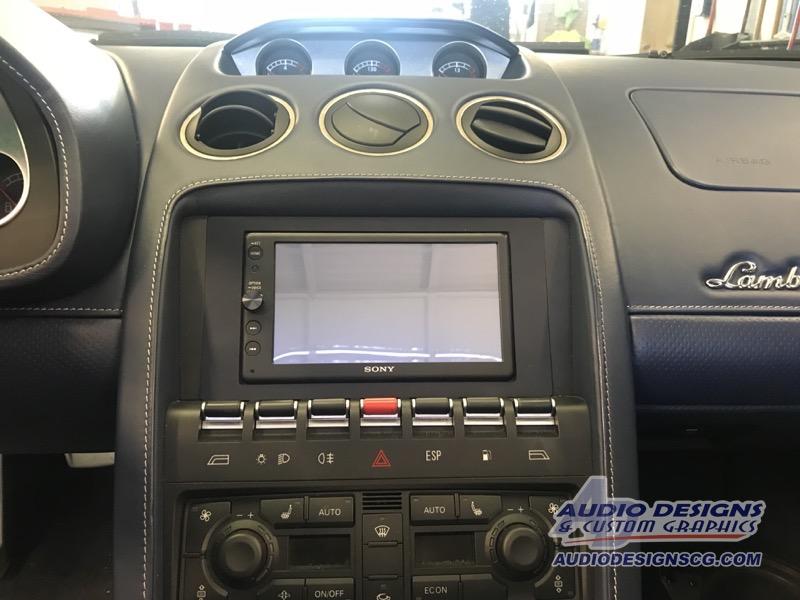 2007 Lamborghini Gallardo Stereo System Window Tint