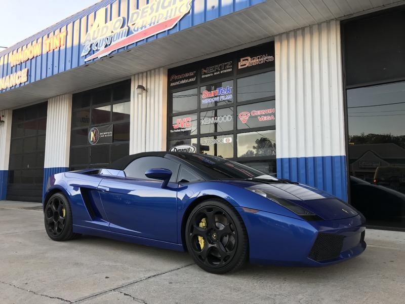 Lamborghini Gallardo Stereo System Upgrade For