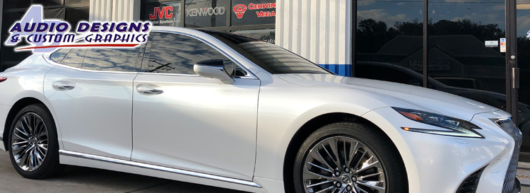 Jacksonville Client Upgrades Lexus LS 500 Subwoofer System