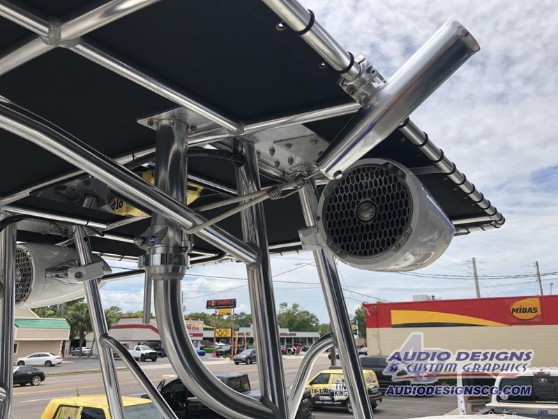 High-Power Stereo System for Jacksonville Apache Center